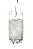 Água derramada Fotografia de Stock Royalty Free