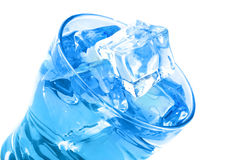 Água desobstruída no vidro foto de stock royalty free