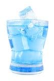 Água desobstruída no vidro fotos de stock royalty free
