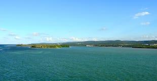 Água do Cararibe Imagens de Stock