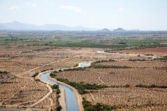 Água do deserto Foto de Stock