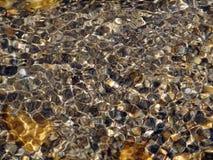 Água do fundo Fotografia de Stock