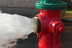 Água do incêndio Fotografia de Stock