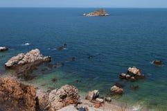 Ilha do mar Foto de Stock Royalty Free