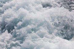 Água do mar de agitação Fotos de Stock Royalty Free