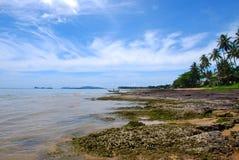 A água do mar e o tempo são grandes Foto de Stock