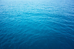 Água do oceano Foto de Stock Royalty Free