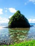 Água do paraíso Fotografia de Stock