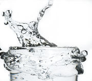 Água do respingo Imagens de Stock Royalty Free