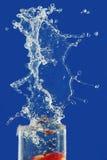 Água do respingo e do pulverizador. imagens de stock