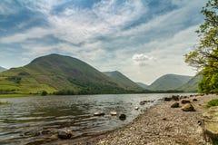 Água dos irmãos, parque nacional do distrito do lago fotos de stock royalty free