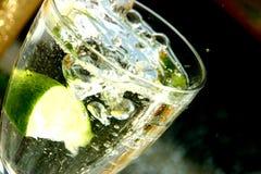 Água e cal Fotos de Stock