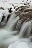 Água e gelo Imagens de Stock Royalty Free