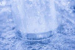 Água e gotas da água Fotografia de Stock