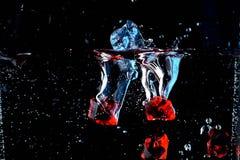 Água e pedras imagens de stock royalty free