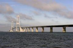 Água e ponte Foto de Stock Royalty Free