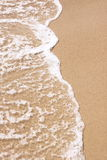 Água e praia Foto de Stock