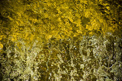 Água e rocha Imagem de Stock