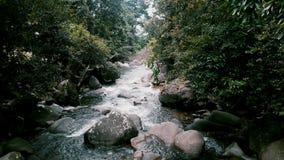 Água e rocha Imagens de Stock Royalty Free