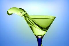 Água e vidro Fotografia de Stock Royalty Free