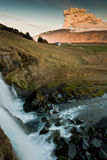 Água e volcan Foto de Stock Royalty Free