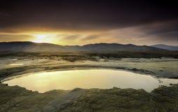 Água em Marte Fotos de Stock