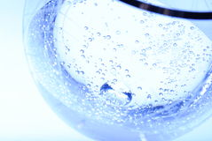 Água em um vidro Fotos de Stock Royalty Free