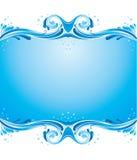 A água espirra Fotos de Stock