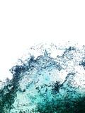 A água espirra a coleção Imagens de Stock