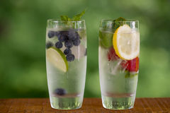 Água infundida fotos de stock royalty free