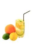 Água infundida citrinas. Imagem de Stock Royalty Free