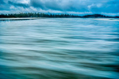 Água litoral lisa imagem de stock royalty free
