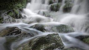 Água longa da exposição Imagens de Stock