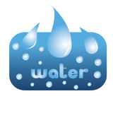 Água mineral Imagem de Stock Royalty Free