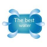Água mineral Imagens de Stock Royalty Free