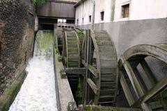 Água-moinho velho Fotografia de Stock