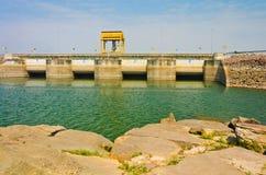 Água na represa de Ubolrat, Tailândia Imagem de Stock Royalty Free