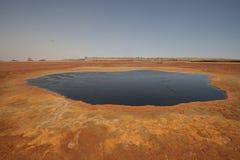 Água no seco Foto de Stock