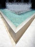 Água no triângulo Fotos de Stock