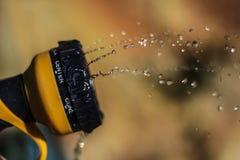 Água para fora uma mangueira Imagem de Stock Royalty Free