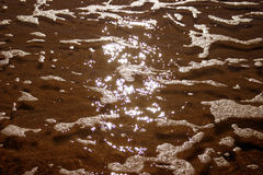Água piscar fotografia de stock