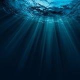 Água profunda fotografia de stock