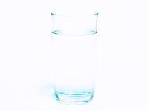 Água pura no vidro claro Fotografia de Stock Royalty Free
