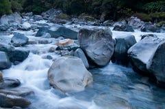 Água que floing fotografia de stock