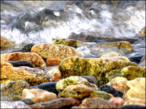 Água rápida foto de stock royalty free