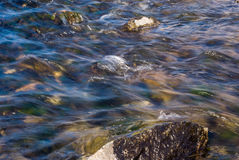 Água rápida Imagem de Stock