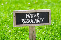 Água regularmente imagem de stock