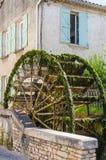 A água roda dentro Provence, França Fotografia de Stock