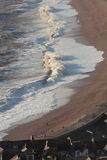 Água salgada irritada Imagens de Stock