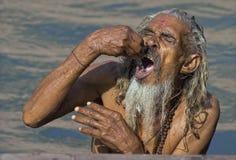 Água santamente Imagem de Stock